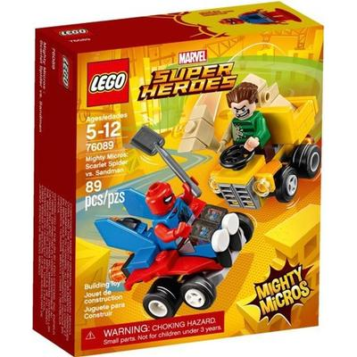 Lego Super Heroes Mighty Micros Scarlet Spider vs Sandman 76089