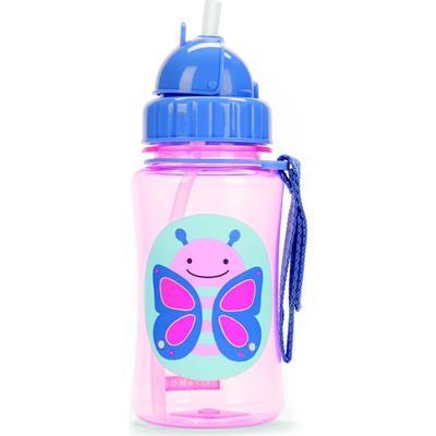 Skip Hop Zoo Straw Bottle Blossom Butterfly