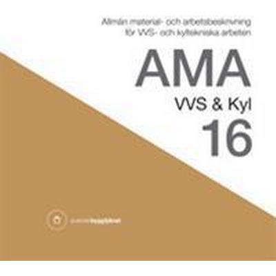 AMA VVS & Kyl 16 (Inbunden, 2016)