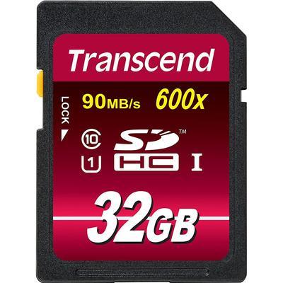 Transcend SDHC UHS-I U1 90MB/s 32GB (600x)