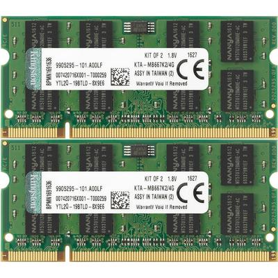 Kingston DDR2 667MHz 2x2GB Apple Mac (KTA-MB667K2/4G)