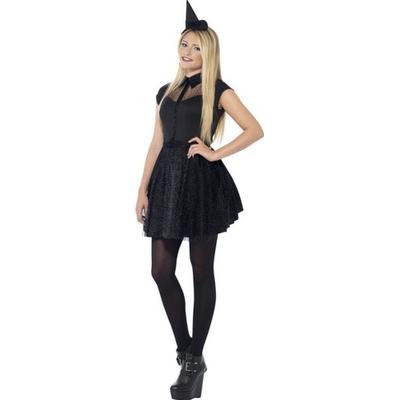 Smiffys Glitter Witch Costume