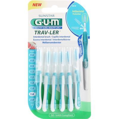 GUM Trav-Ler 1.6mm 6-pack