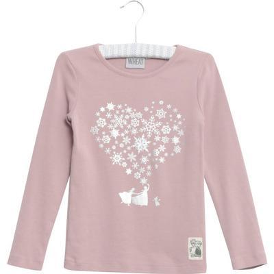 e6565c8bbf8 Wheat Heart T-shirt - Powder Rose - Sammenlign priser hos PriceRunner