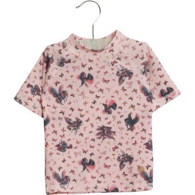 c6b06b32271 Wheat Jackie SS Swim T-shirt - Powder - Sammenlign priser hos ...
