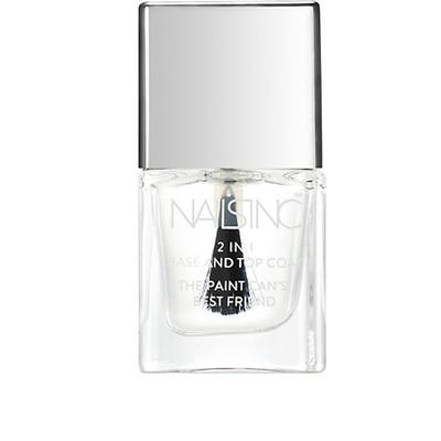 Nails Inc 2 in 1 Base & Top Coat 5ml