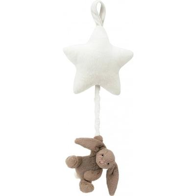 Jellycat Bashful Beige Bunny Star Musical Pull