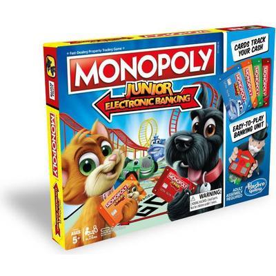 Hasbro - Monopol Junior Elektronisk bank