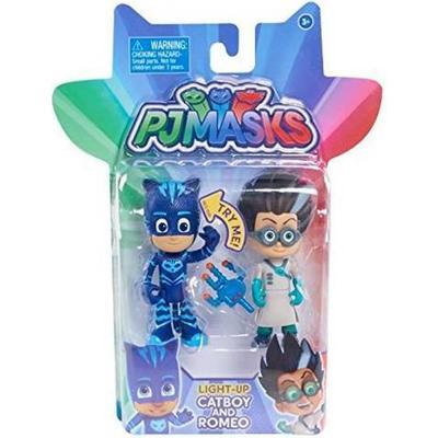 Flair PJ Masks Light Up Cat Boy & Romeo