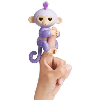 Wowwee Fingerlings Glitter Monkey Kiki