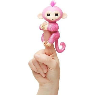 Wowwee Fingerlings Glitter Monkey Rose