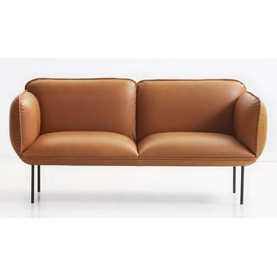 Woud Nakki Læder 2 Seater Soffa