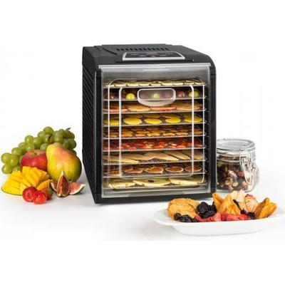 Klarstein Fruit Jerky 9 torkautomat timer 9 hyllor 600-700W svart