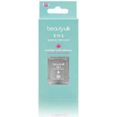 BeautyUK Beauty UK 5 In 1 Base & Top Coat