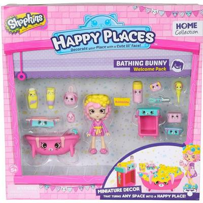 Moose Shopkins Happy Place Bathing Bunny