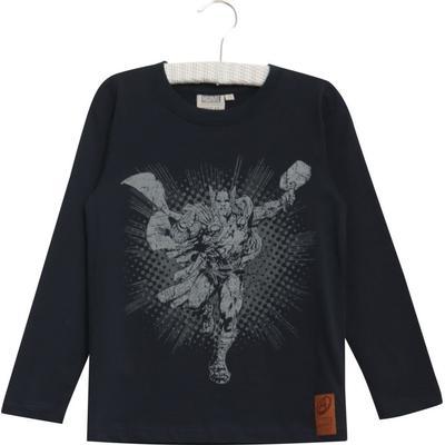 c396a47e28d Wheat Thor T-shirt - Navy - Sammenlign priser hos PriceRunner