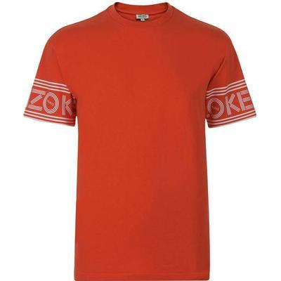 Kenzo Logo T-shirt Medium Red (F665TS0434BD.21.L)