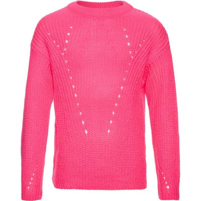 Name It Nitdineon Neon Pink Knitted Top - Pink/Knockout Pink (13136014)