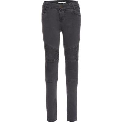 Name It Grey Super Stretch Skinny Fit Jeans - Grey/Asphalt (13142301)