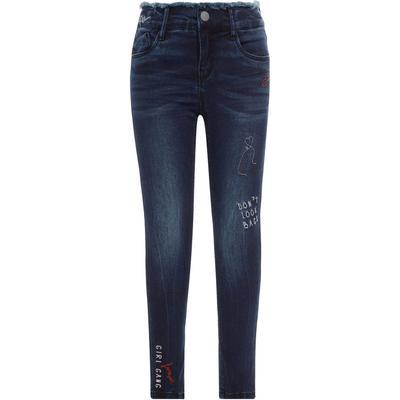 Name It Super Stretch Skinny Ankle Jeans - Blue/Dark Blue Denim (13144982)