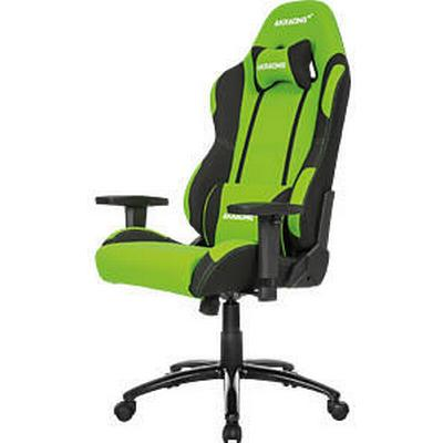 AKracing Prime Gaming Chair - Black/Green