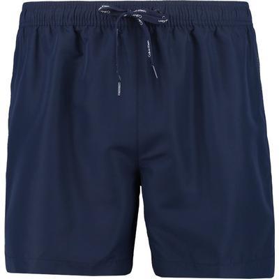 Calvin Klein Core Solids Swim Shorts Blue Shadow (KM0KM00170)