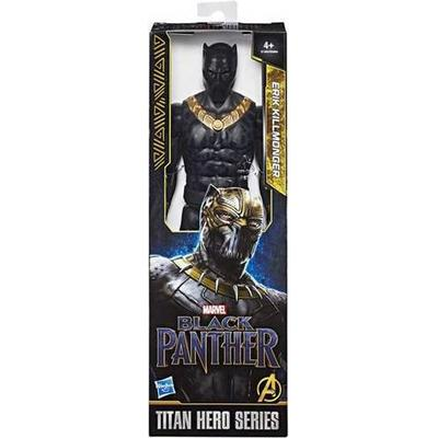 """Hasbro Marvel Black Panther Titan Hero Series 12"""" Erik Killmonger E1364"""