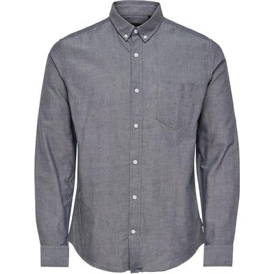 Only & Sons Solid Long Sleeved Shirt Blue/Dark Sapphire (22006479)
