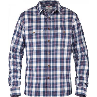 Fjällräven Singi Flannel Shirt LS Uncle Blue (F82445-520)