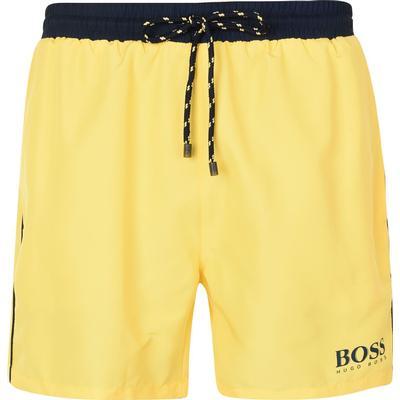 Hugo Boss Starfish Swim Shorts Yellow (50269488)