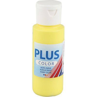 Plus Acrylic Paint Primary Yellow 60ml