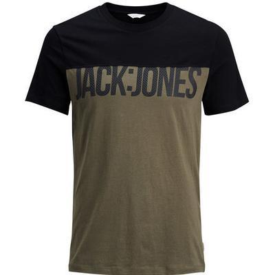 Jack & Jones Graphic T-shirt Black/Black (12128834)