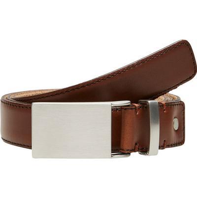Selected Leather Belt Brown/Cognac (16062547)