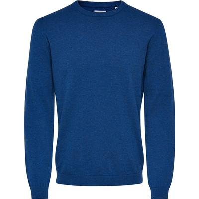 Only & Sons Solid Knitted Pullover Blue/Ensign Blue (22006793)