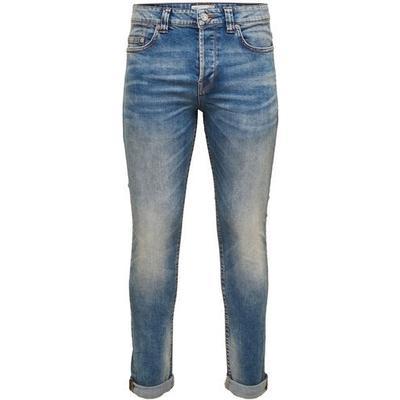Only & Sons Loom Slim Fit Jeans Blue/Light Blue Denim (22005078)