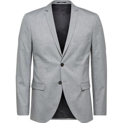 Selected Slim Fit Blazer Grey/Light Grey Melange (16056888)