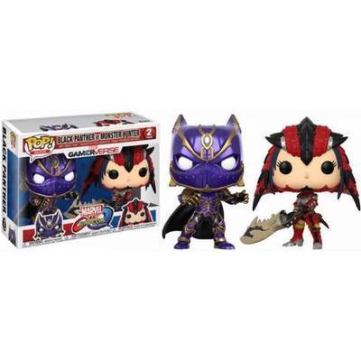 Funko Pop! Games Marvel vs Capcom: Black Panther vs Monster Hunter 2 Pack