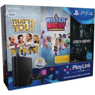 Sony PlayStation 4 Slim 500GB - That's You! & Knowledge Is Power & Hidden Agenda