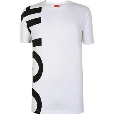 Hugo Boss Daws Oversized-Logo T-shirt White (50385553)