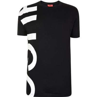 Hugo Boss Daws Oversized-Logo T-shirt Black (50385553)