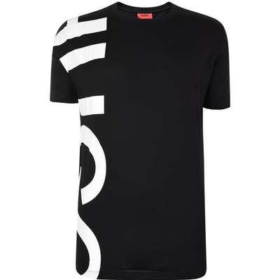 Hugo Boss Daws Oversized-Logo T-shirt Black (50385553)