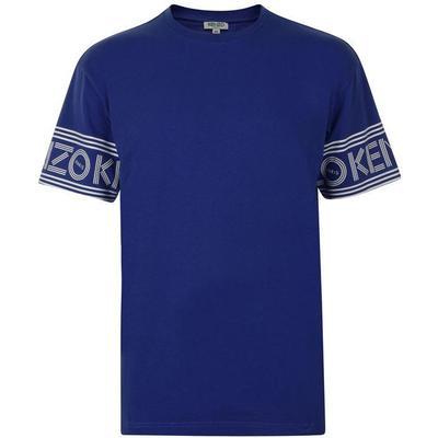 Kenzo Logo T-shirt Bright Blue (F665TS0434BD.74)