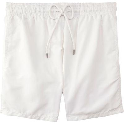Vilebrequin Moorea Solid Swim Shorts White (WB-MOOP701P-HOM-010)