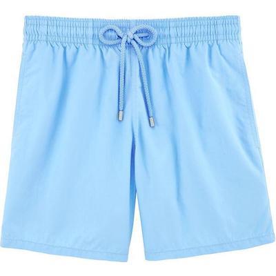Vilebrequin Moorea Solid Swim Shorts Sky Blue (WB-MOOP701P-HOM-330)