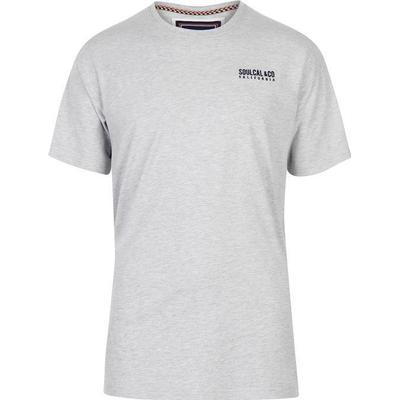 SoulCal Small Logo T-shirt Grey Marl (59907325)