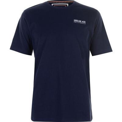 SoulCal Small Logo T-shirt Navy (59907322)