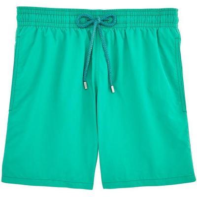 Vilebrequin Moorea Solid Swim Shorts Veronese Green (WB-MOOP701P-HOM-408)