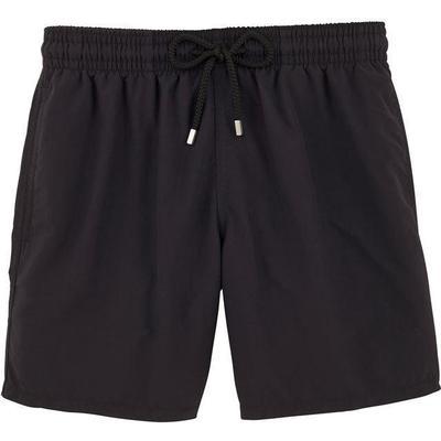 Vilebrequin Moorea Solid Swim Shorts Black (WB-MOOP701P-HOM-990)