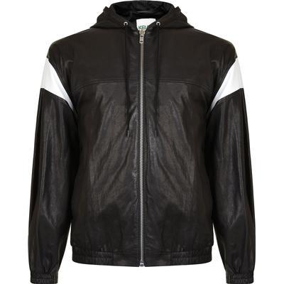 Kenzo Hyper Leather Jacket Black ( F855BL9180AA.99)