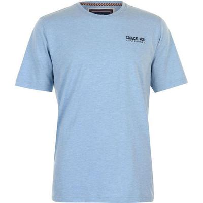 SoulCal Small Logo T-shirt Sky Marl (59907393)